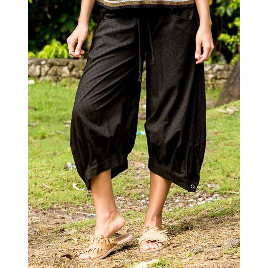 Boom Shankar Guru Pants in Sanur Sands Black
