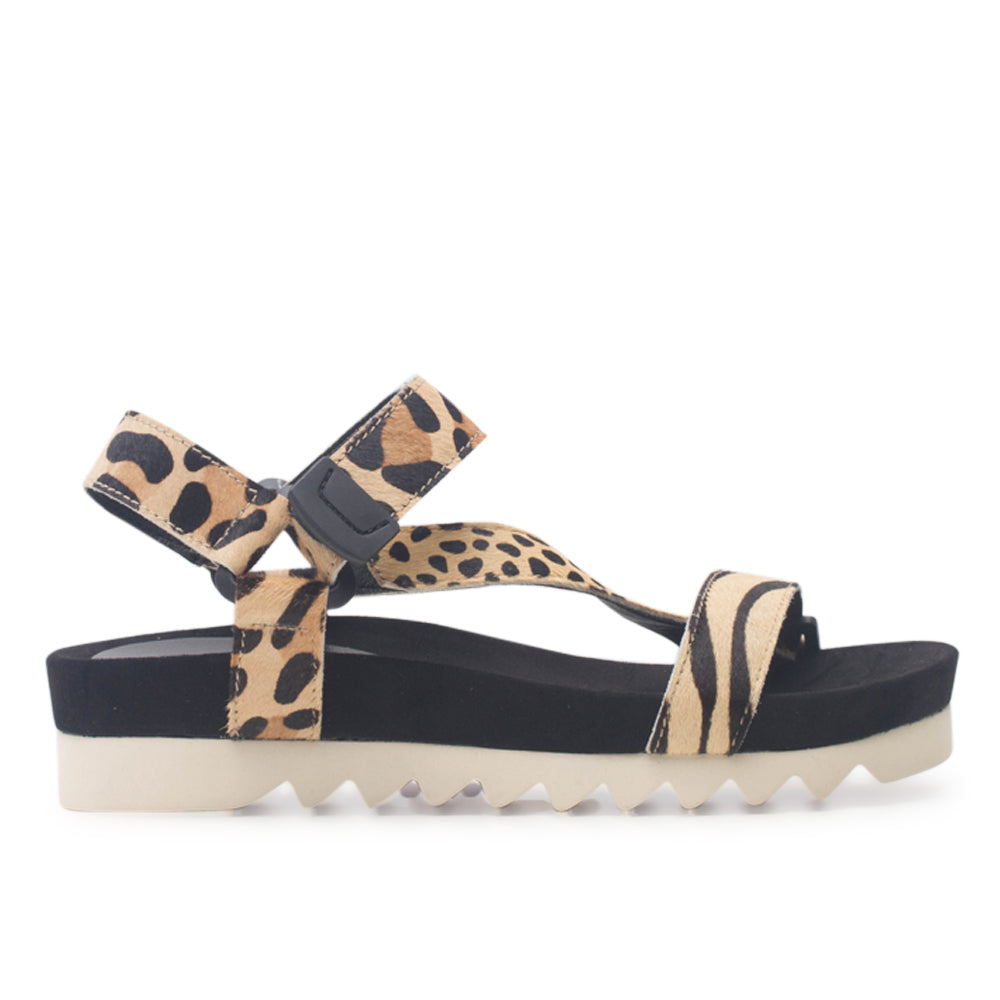 Rollie Sandal Tooth Wedge Safari