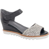 Hinako Heidi Sandal in Black with Pony
