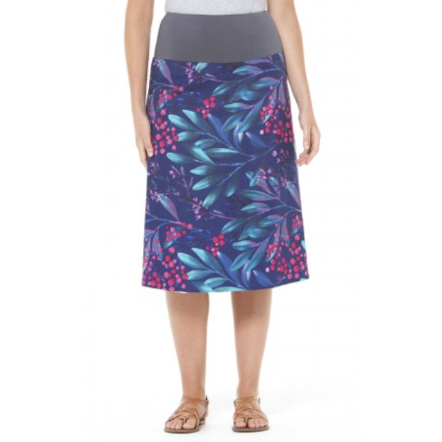 Rasaleela Dita Skirt in Summer and Berry Print