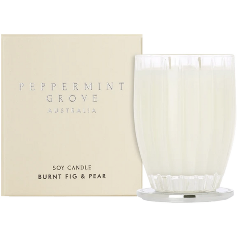 Peppermint Grove Burnt Fig and Pear Large Candle