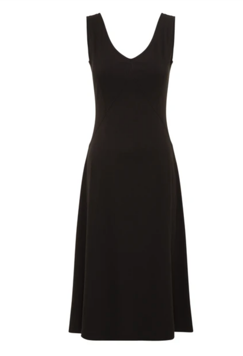 Alquema IYD Rib Lounge Dress in Black