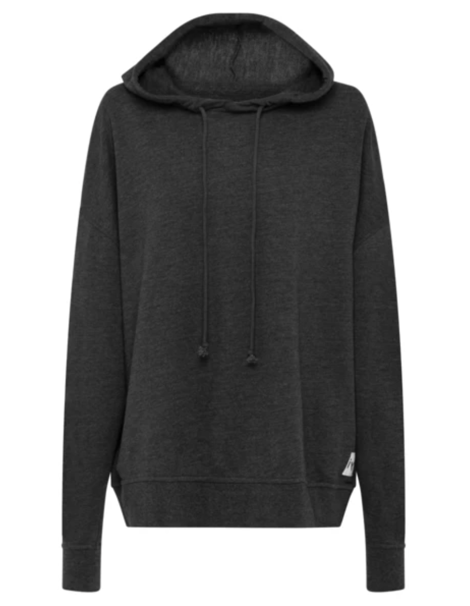 Alquema IYD Terry Hoodie Top in Grey Marle