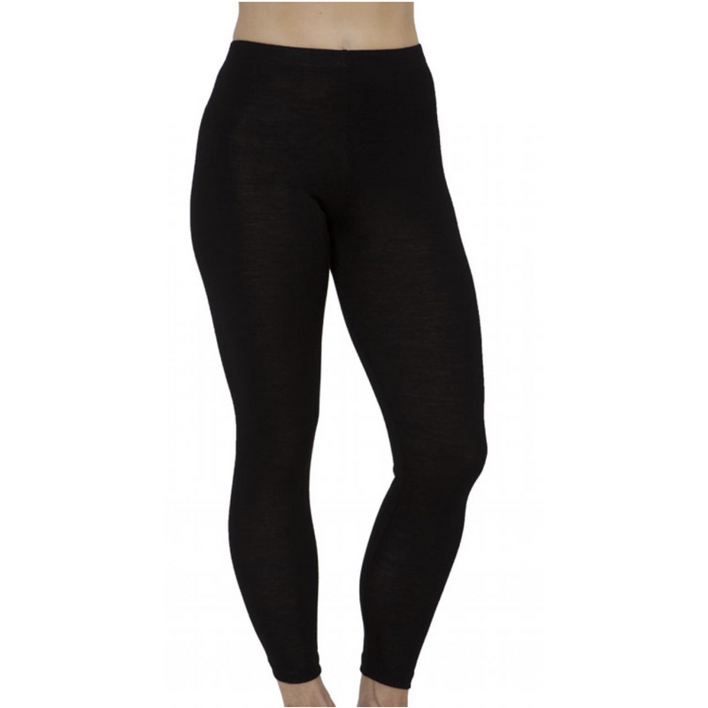 Baselayers Pure Wool Rib Legging Full length