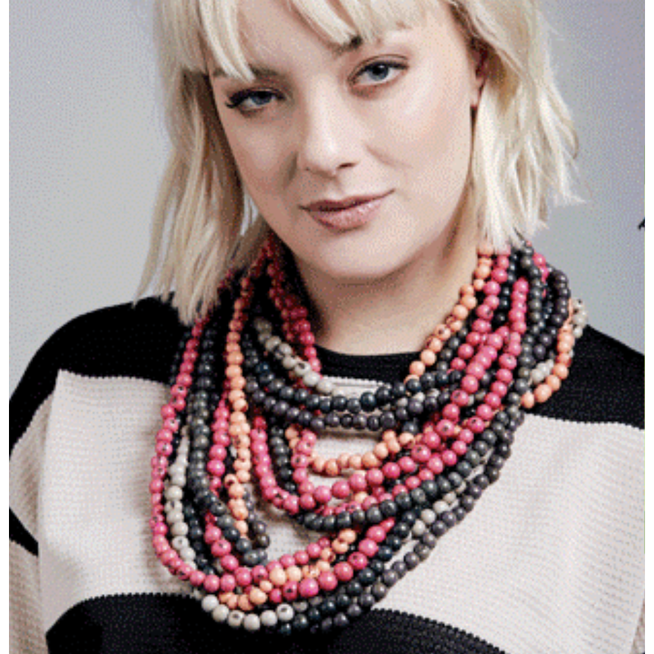 Acai Bead Necklaces by Melko