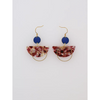 Middle Child Jewellery Corsair Earrings in Blue