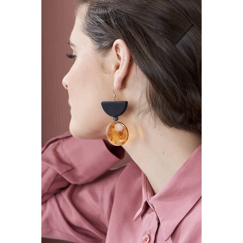 Middle Child Jewellery Montego Earrings in Black