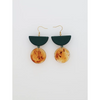 Middle Child Jewellery Montego Earrings in Green