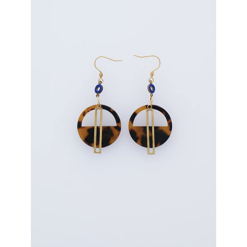Middle Child Jewellery Yacht Earrings in Blue