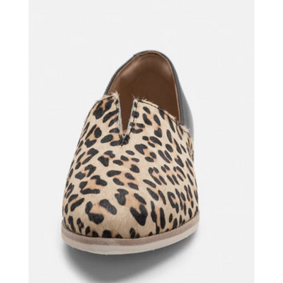 Rollie Madison V Cut Camel Leopard /Black