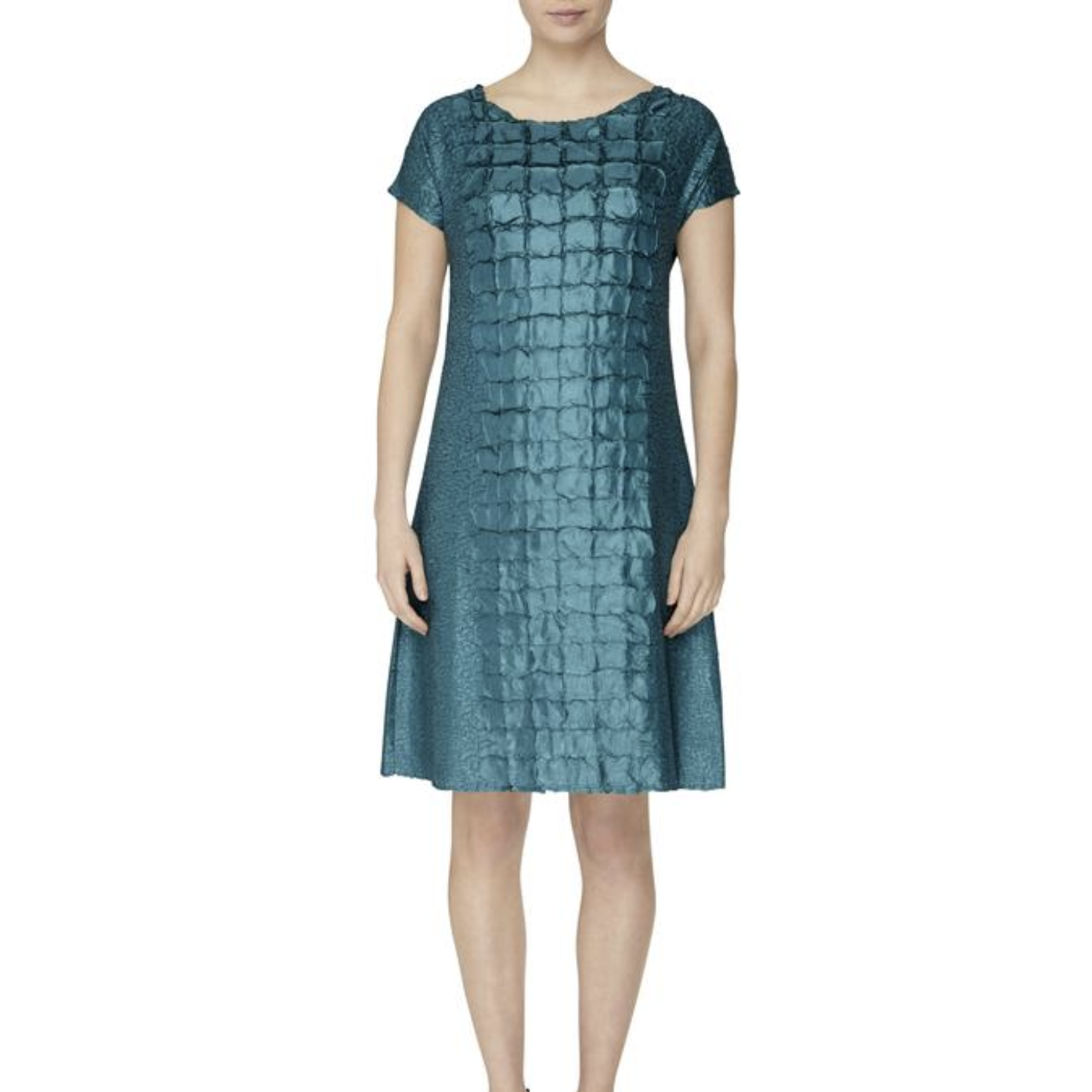 Alquema Reef Dress in Blue Green