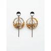 Middle Child Jewellery Mast Earrings Mustard