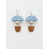 Middle Child Jewellery Gable Earrings Blue