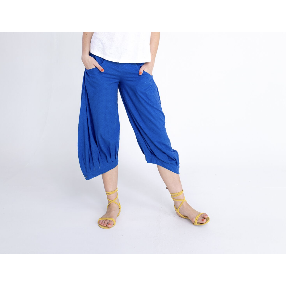Boom Shankar Guru Pants in Cobalt Blue