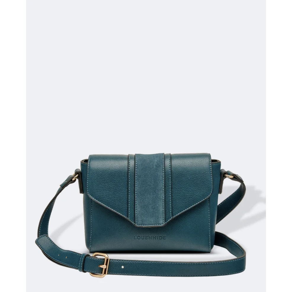 Louenhide Spicer Teal Crossbody Bag