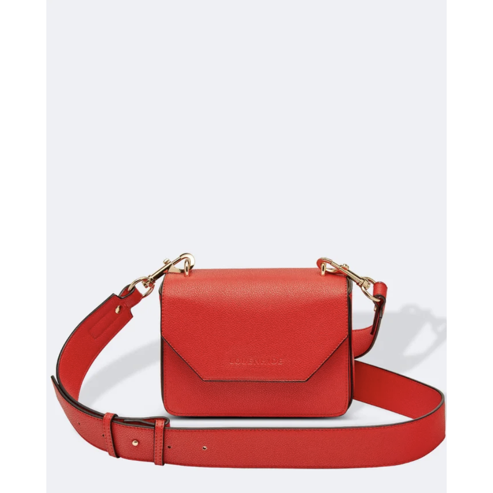 Louenhide Roma Red Crossbody Handbag