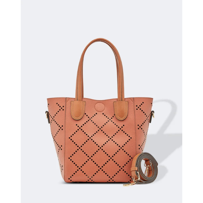 Louenhide Baby Bermuda Handbag in Clay