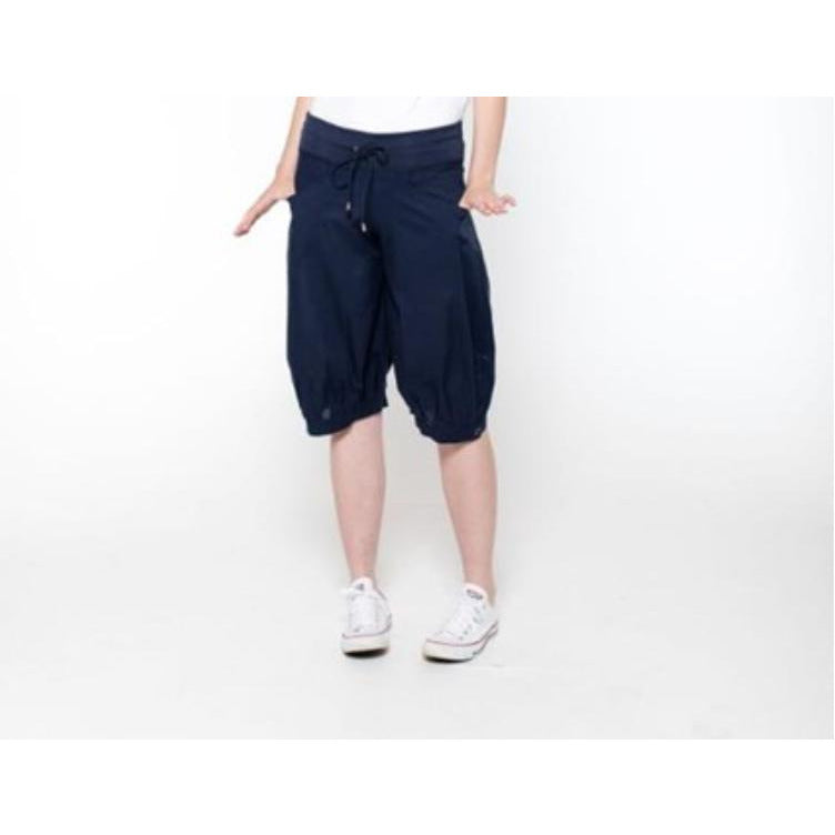 Boom Shankar Jada shorts in Navy in Plain