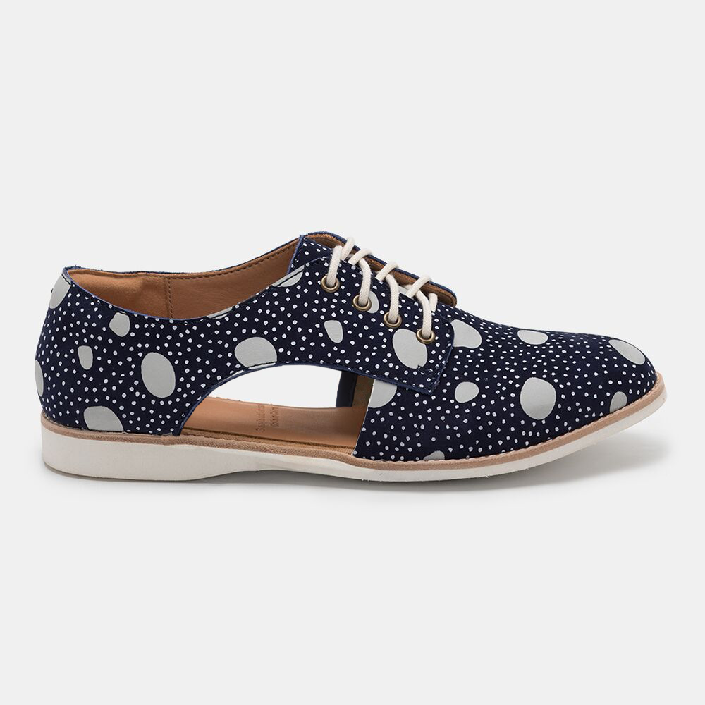 Rollie Sidecut Navy Artistic Dots