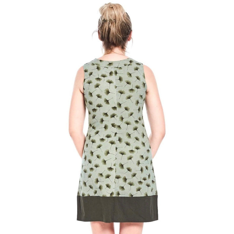 MahaShe Sixties Tunic in Ginkgo Green