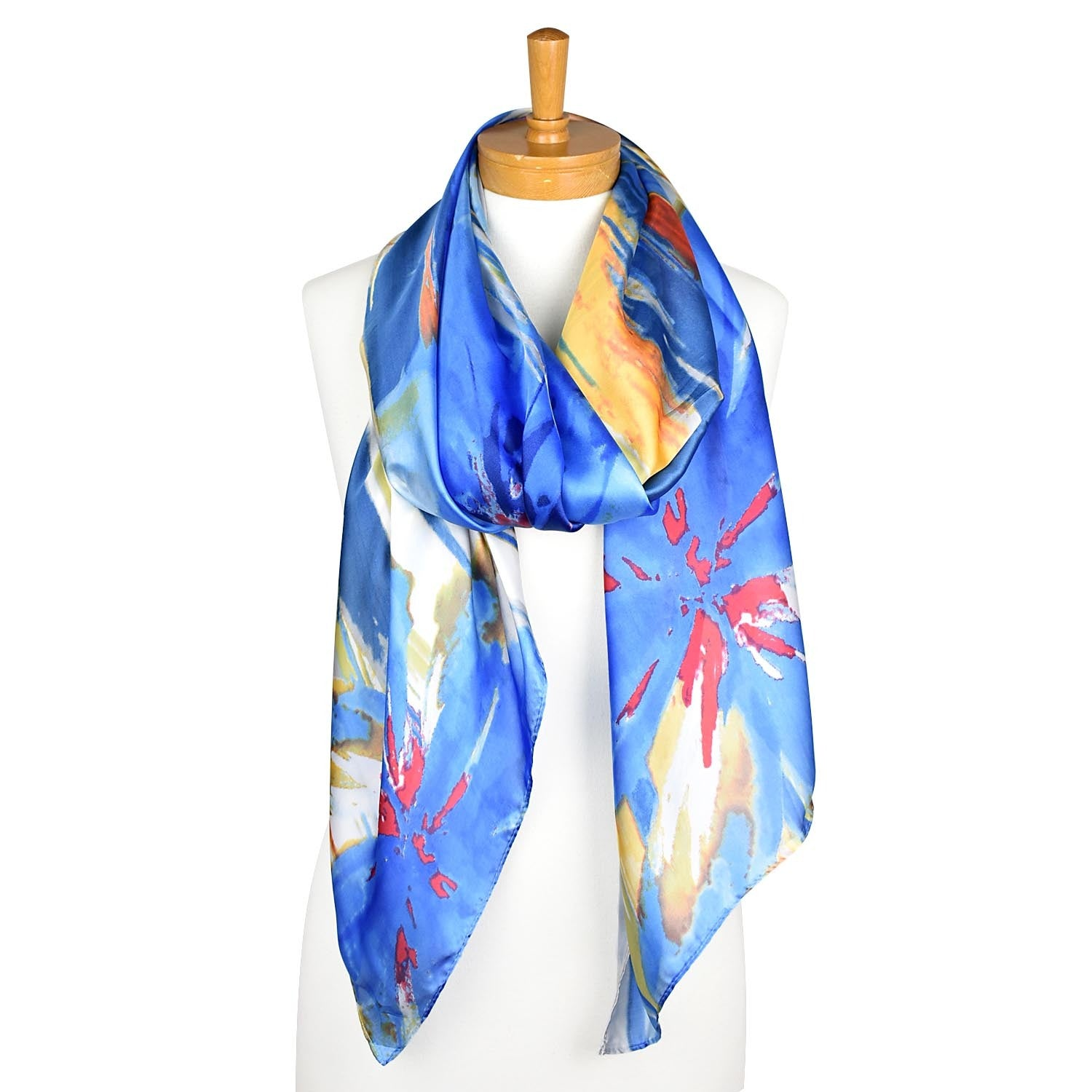 Taylor Hill Scarves Blue Navy Multi Colour Scarf