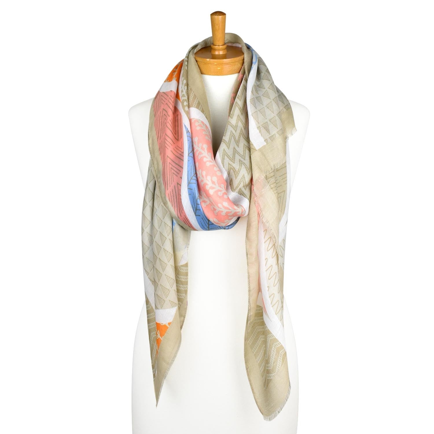 Taylor Hill Scarves Abstract Nature Scarf