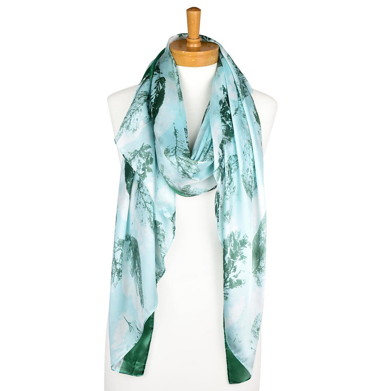 Taylor Hill Scarves Jade Leak Ink Blocking Scarf