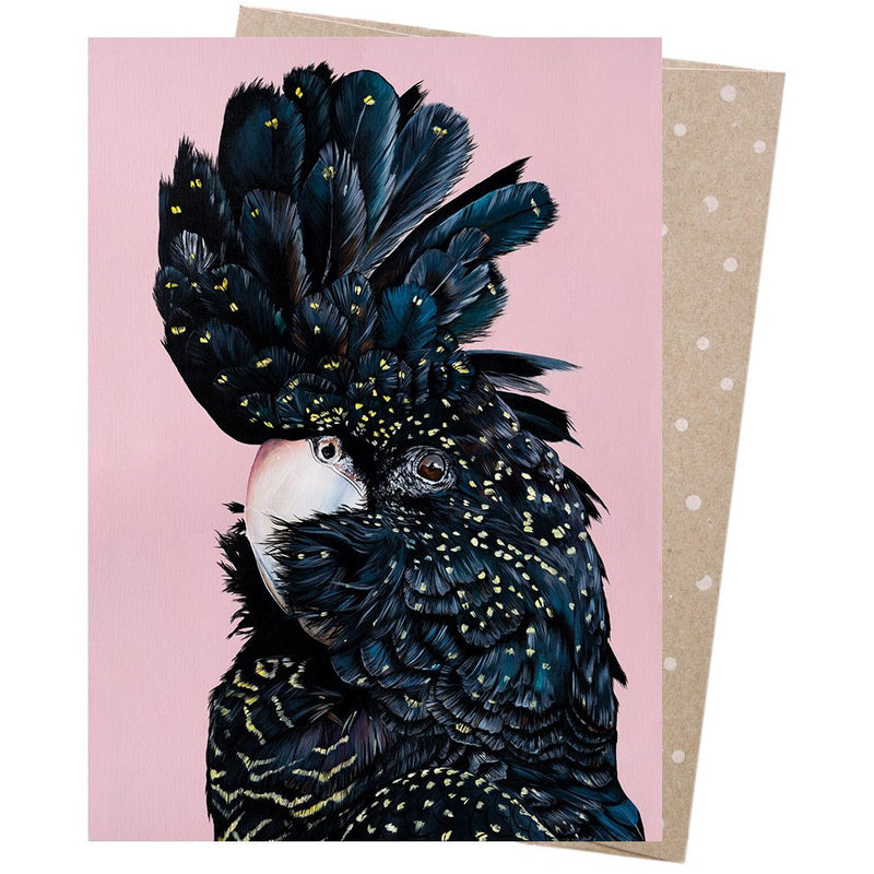 Earth Greetings Card Rosie Red-Tail