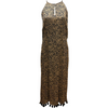 Rubyyaya Raj Maxi Dress in Animal Print