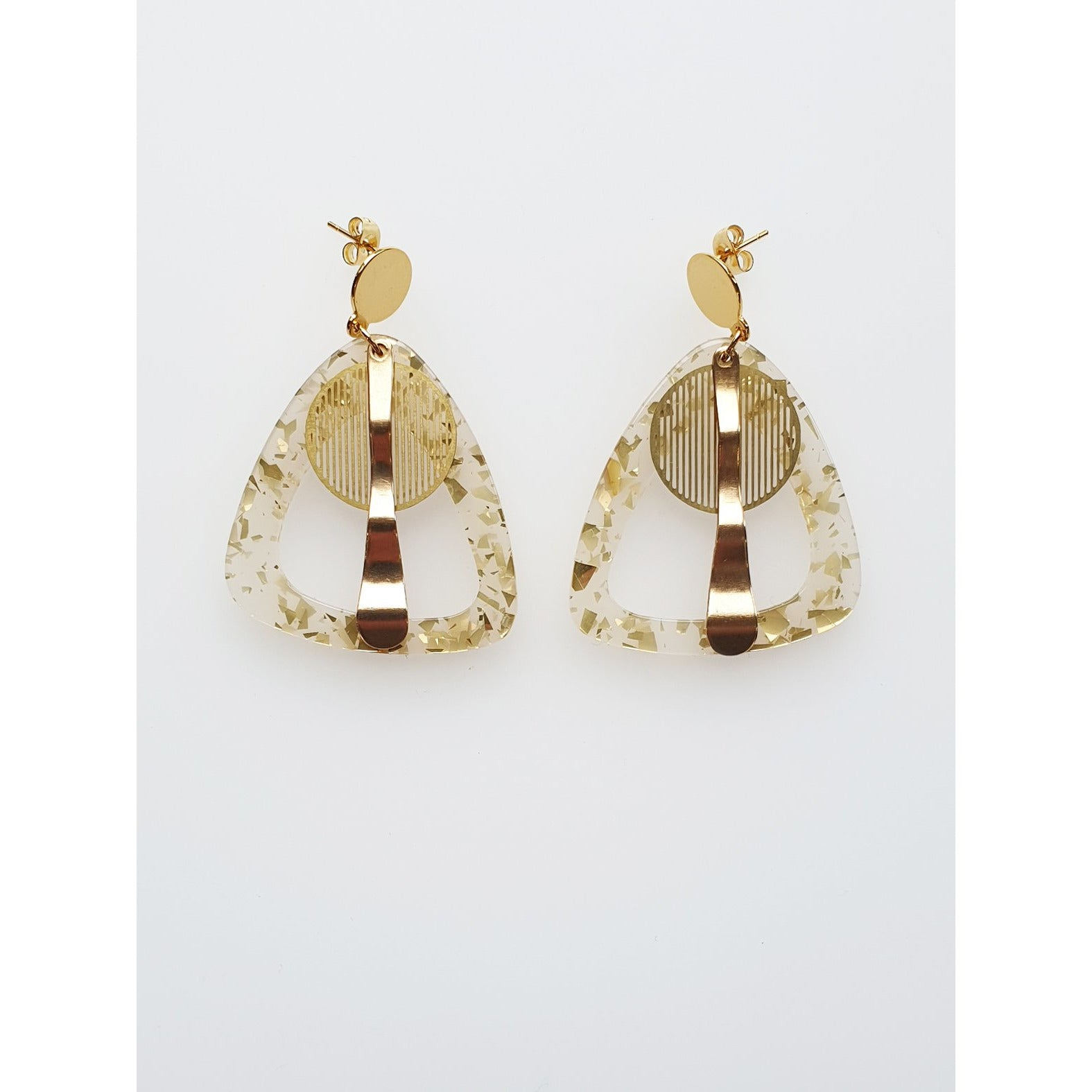 Middle Child Jewellery Atlas Earrings Gold