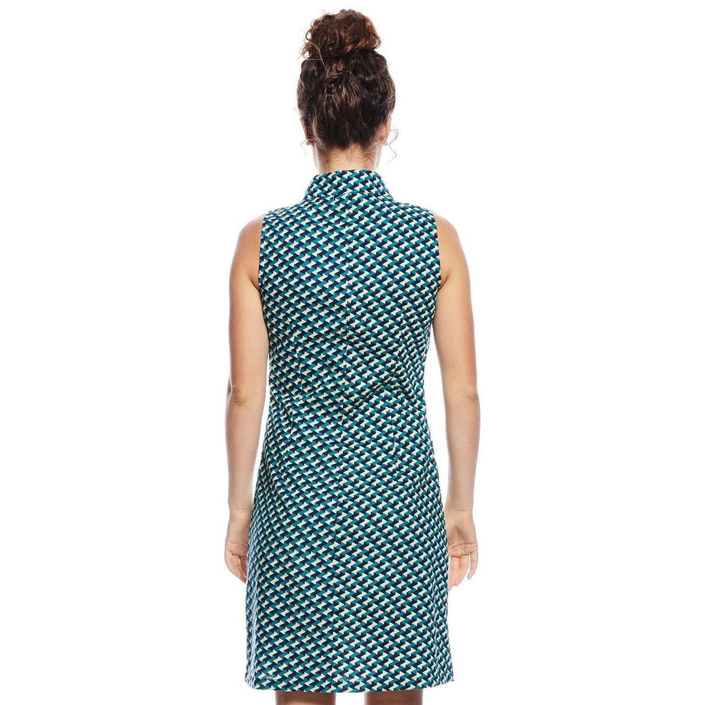 MahaShe Jasmin Dress in Badu print