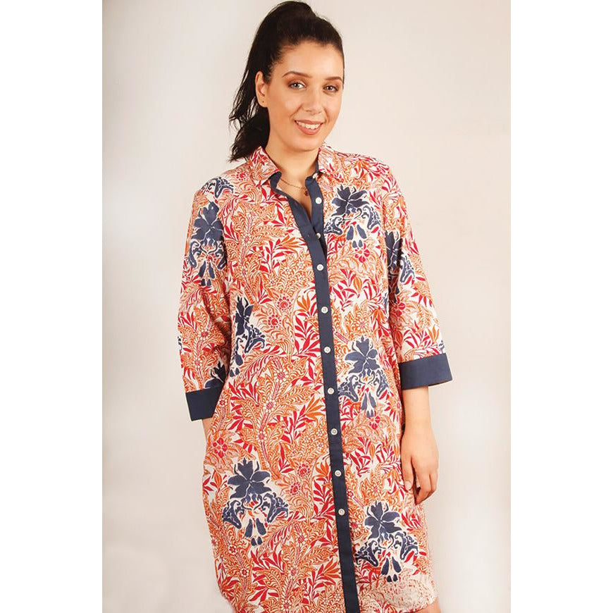 Tradition Textiles Batika Shirt Dress
