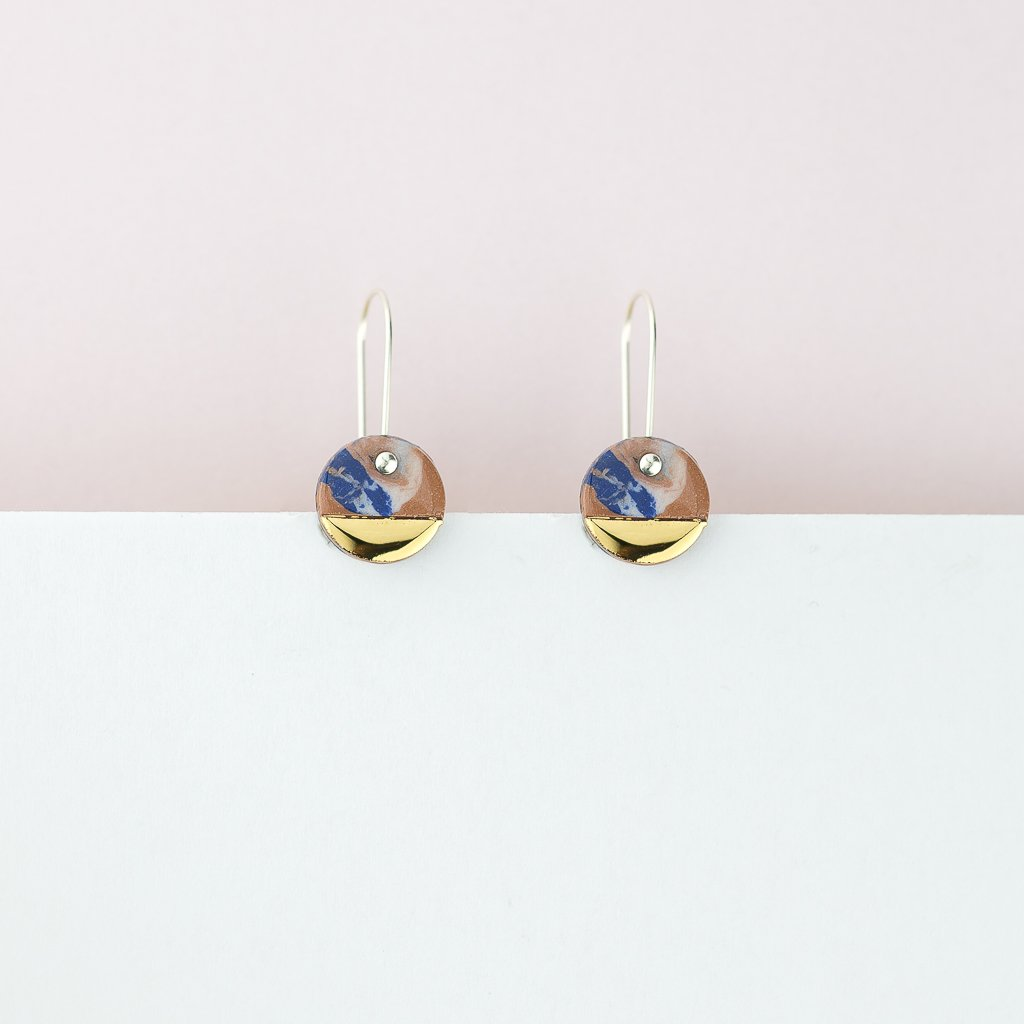 Erin Lightfoot Spot Earrings in Desert