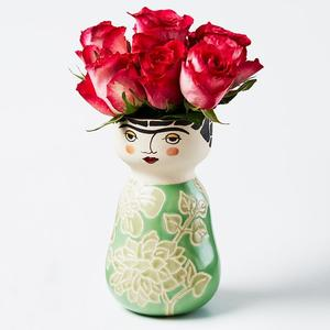 Jones & Co Frida Face Vase