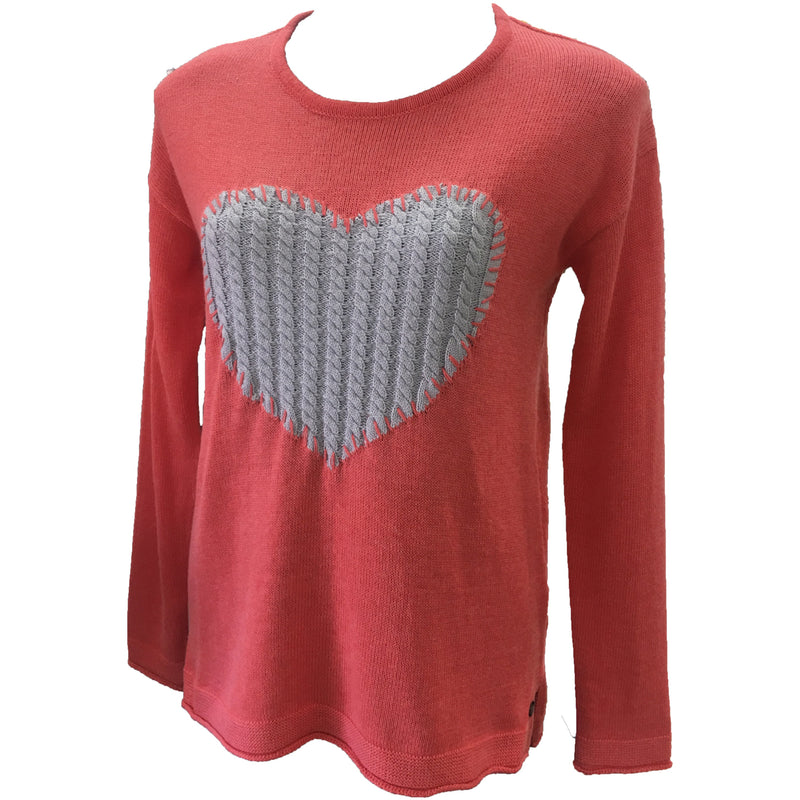 Foil Hearts & Crafts Sweater