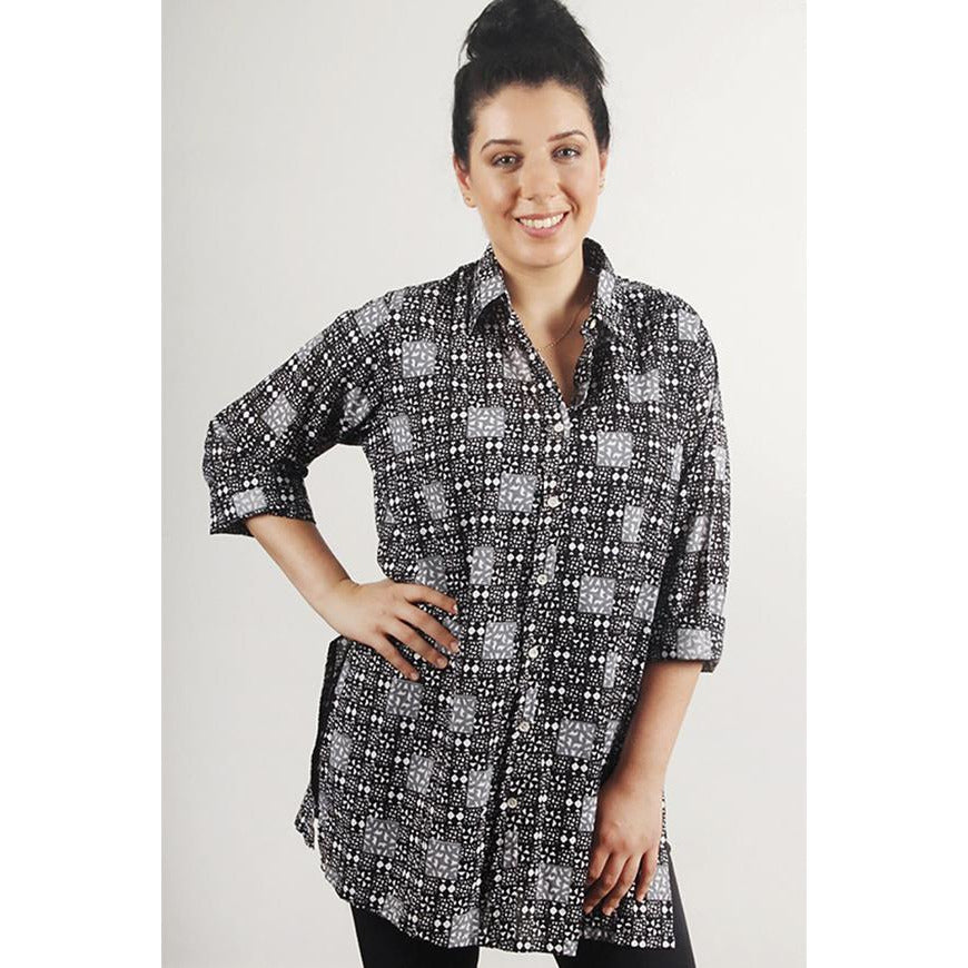 Tradition Textiles Mosaic Shirt in cotton