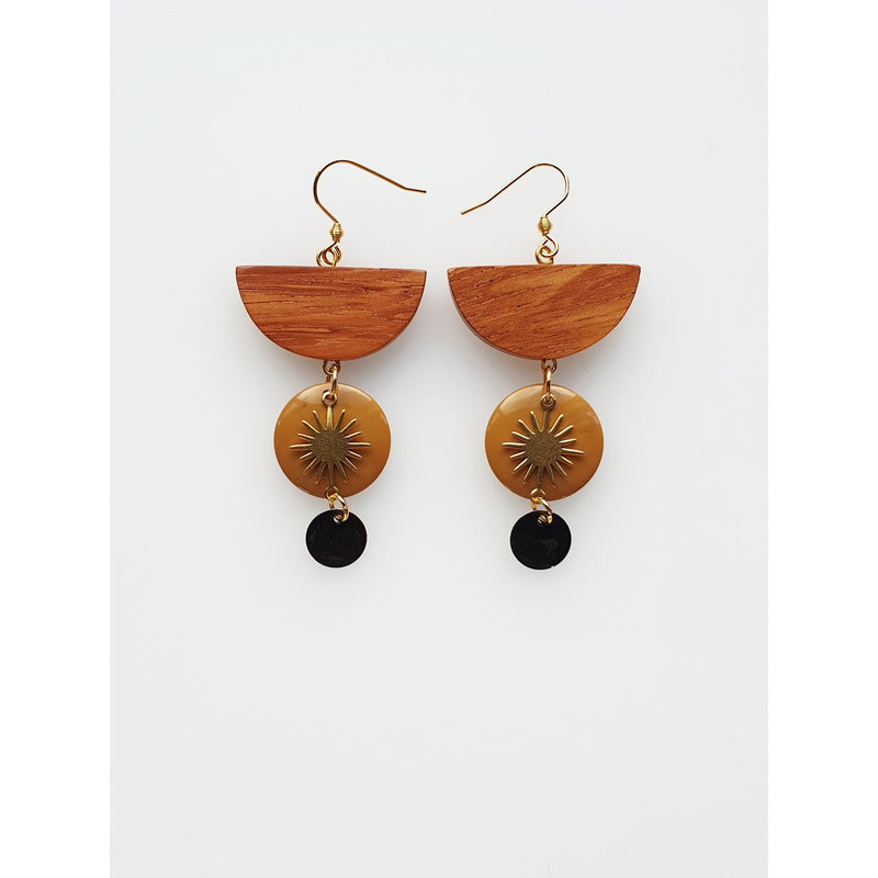 Middle Child Jewellery Motel Earrings in Mustrad