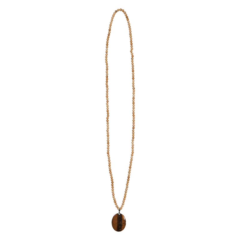 eb&ive Mwana Stone Necklace in Stone