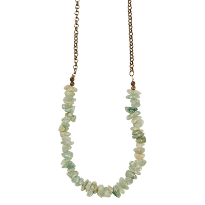 eb&ive Native Necklace in Jade