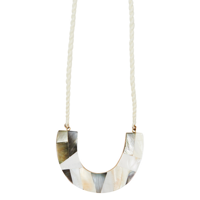 eb&ive Native Necklace in Mother of Pearl