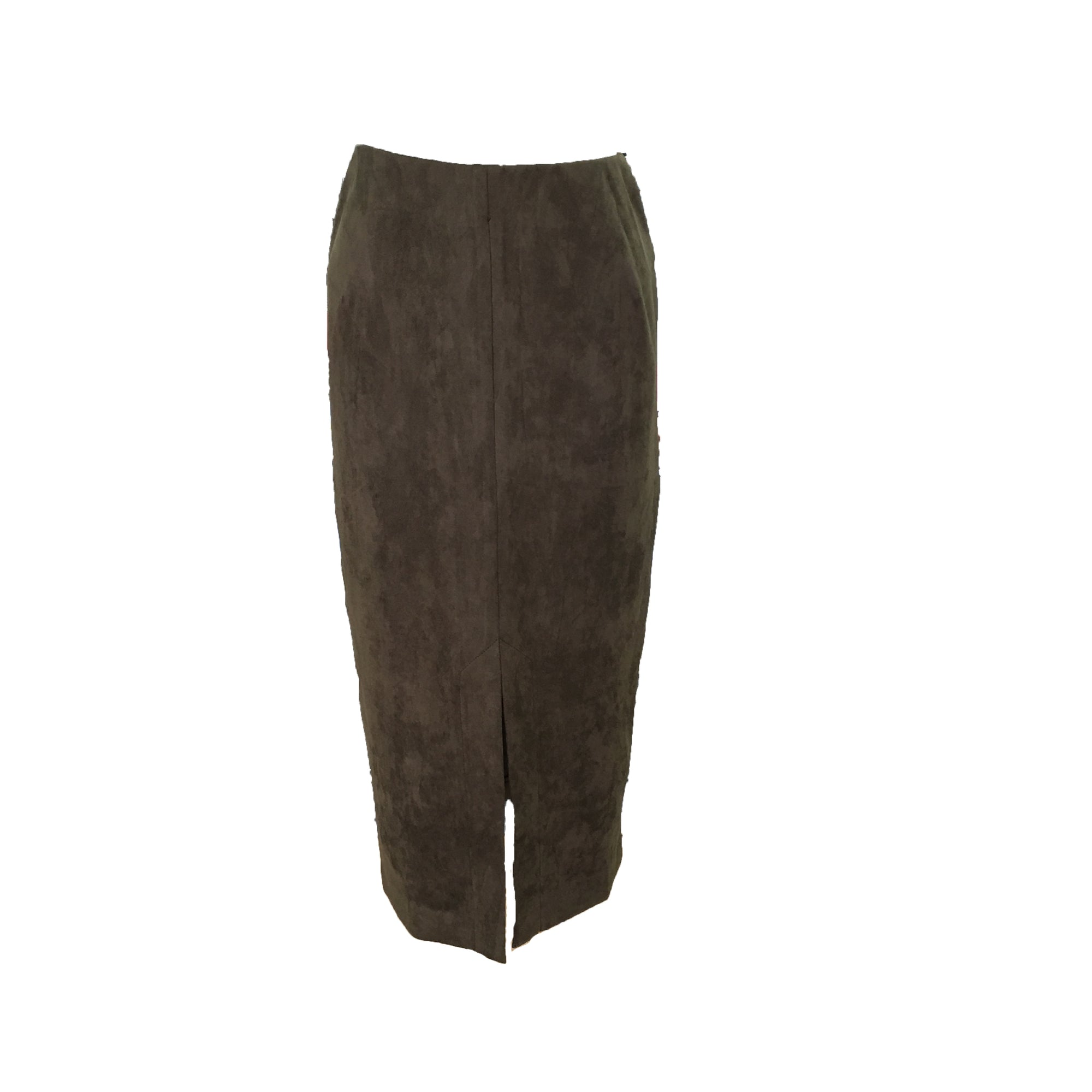 Foil Easily Suede Skirt