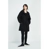 Tirelli Drawstring Detail Parka in Black