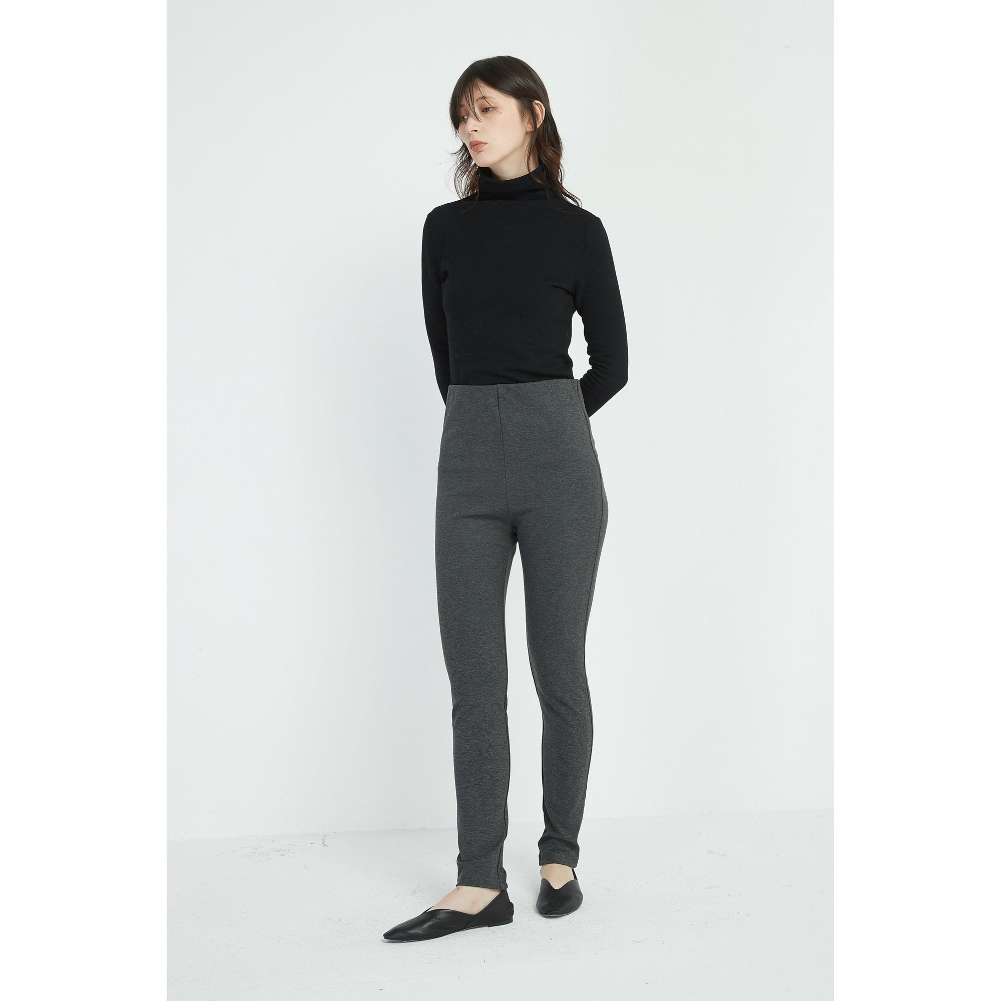Tirelli Winter Legging in Charcoal