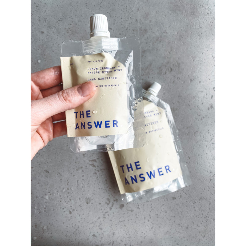 THE ANSWER 50ml Hand Sanitiser