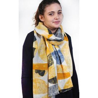 Tradition Textiles 100% Merino Wool Semi Texture Scarf