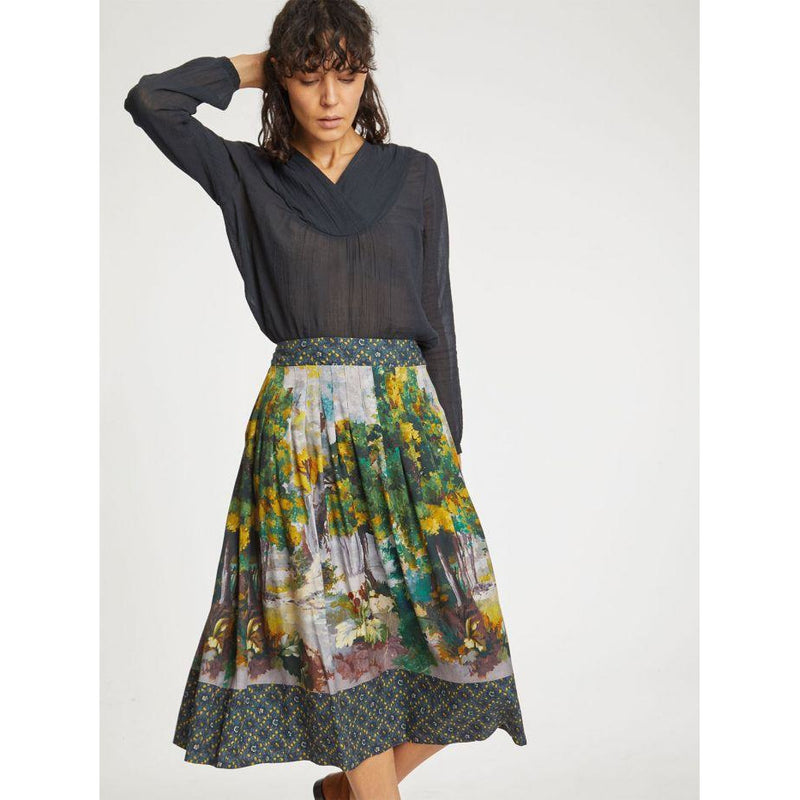 Thought Maiken Skirt in Frost Grey