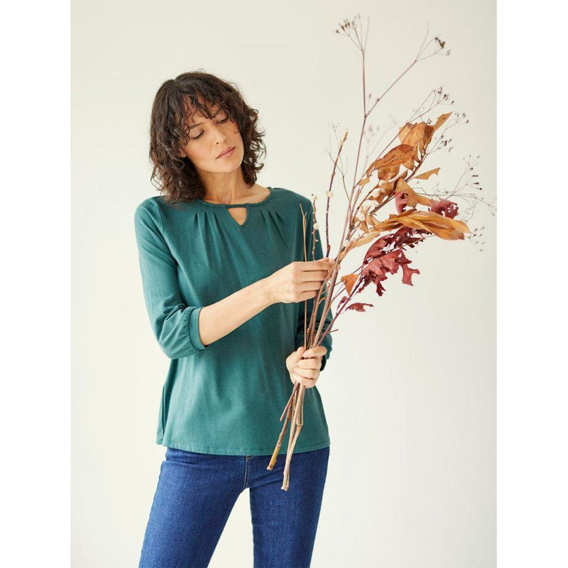 Thought Sigrun Top in Deep Teal