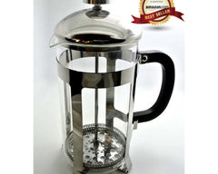 34oz Coffee / Espresso / Tea Maker, French Press|耐高溫玻璃法式壓茶/咖啡壺