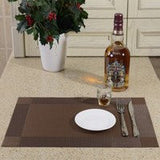 Dining Room Heat Insulation Placemats 8 Pieces Set|絕熱餐墊8塊套裝