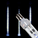 LED animated snow tube pure white